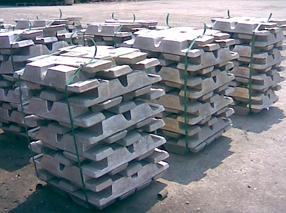 Първичен алуминий на блок/балванки/